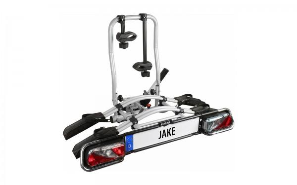 EUFAB Jake Kupplungsträger- Fahrradträger für 2 Fahrräder