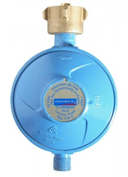 CAMPINGAZ Gasdruck-Regler 50mbar 1,0kg/h- für 5 & 11 Kg Gasflaschen