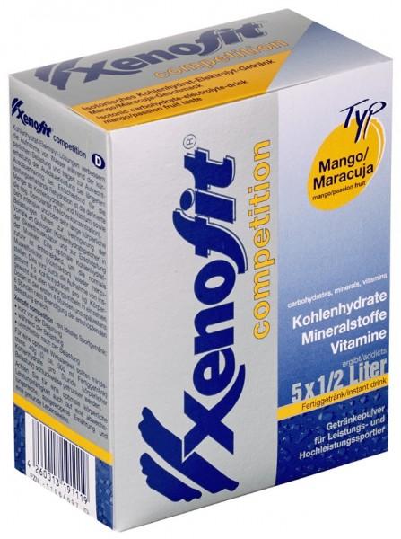 XENOFIT Competition - Mango/Maracuja - Getränkepulver - 5 x 500 ml