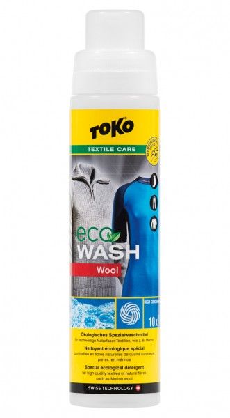 TOKO Eco Wool Wash - Woll - Merinowolle - Waschmittel - 250 ml