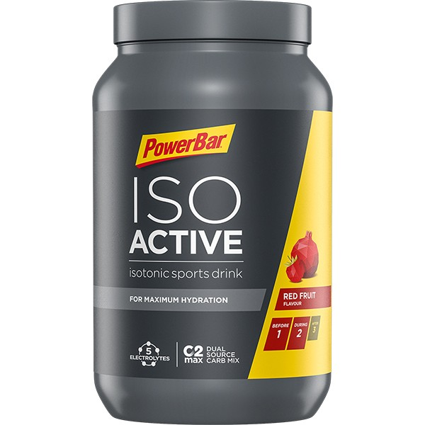 POWERBAR Isotonisches Sportgetränk - Red Fruit Punch - 600g Dose