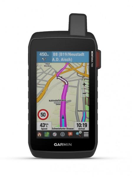 GARMIN Montana 750i Outdoor GPS mit Touchscreen inkl. TopoActive Europa