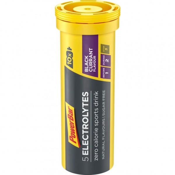 POWERBAR 5 Electrolytes Sports Drink - Black Currant - 10x4,2g