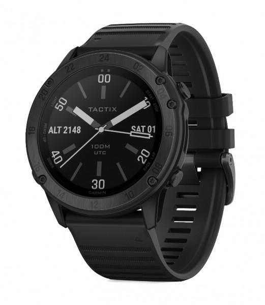GARMIN tactix Delta GPS - Sapphire Edition - Smartwatch - Schwarz