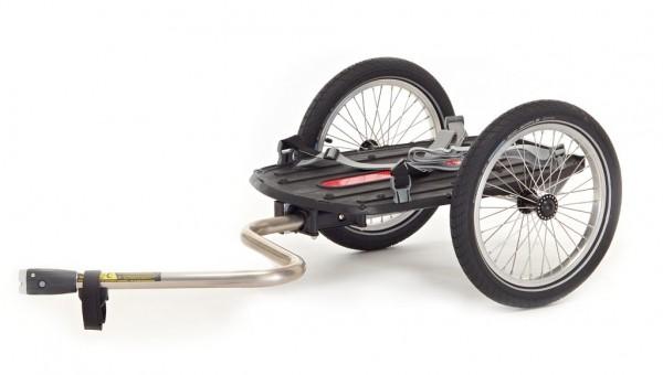 ROLAND Fahrradanhänger - Carrie S - Basismodell mit Tiefdeichsel