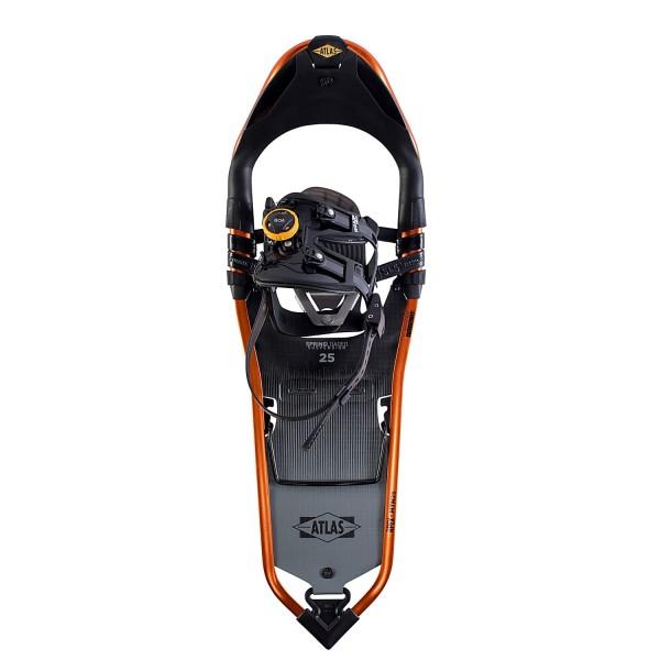 ATLAS APEX MTN 25 Schneeschuhe - Schwarz/Orange - Herren