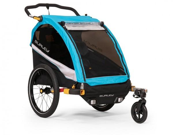 BURLEY D`Lite X Fahrrad-Kinder-Anhänger