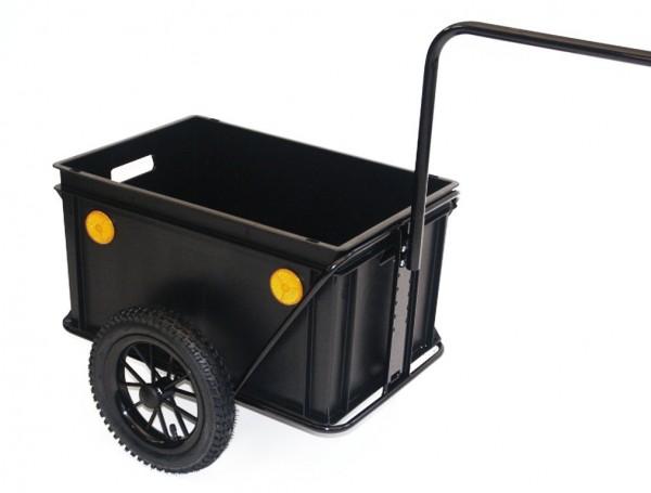 ROLAND Fahrradanhänger - Mini Boy - schwarz