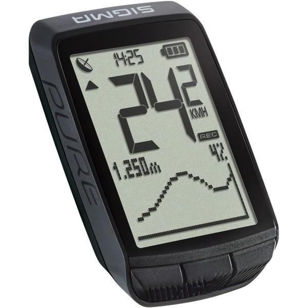 SIGMA Pure GPS Fahrradcomputer schwarz