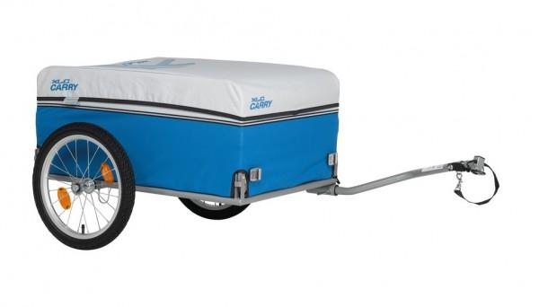 XLC Carry Van BS-L03 Lastenanhänger inkl. Regenverdeck & Rücklicht- blau