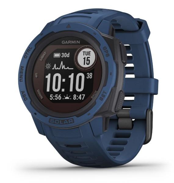 GARMIN Instinct Solar - Dunkelblau - Outdoor - Smartwatch