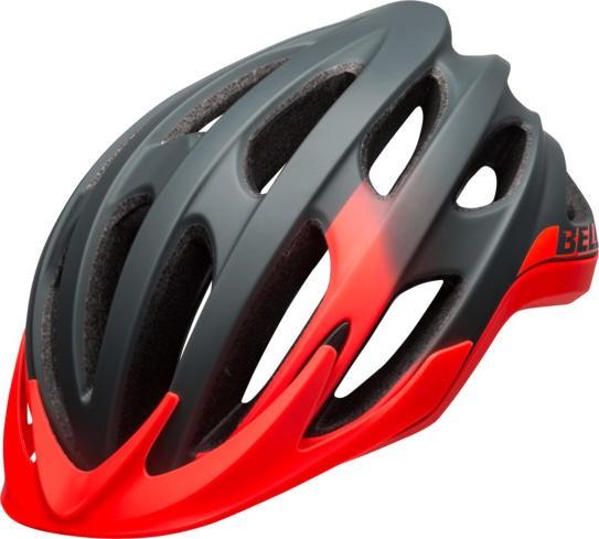 BELL Drifter MTB-Fahrradhelm - rot-grau