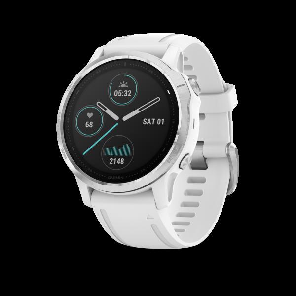 GARMIN Fenix 6S Weiß Smartwatch mit weißem Armband