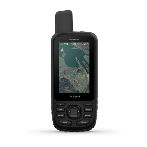 GARMIN GPSMap 66st - mit TopoActive Europa-Karte - Navigationsgerät