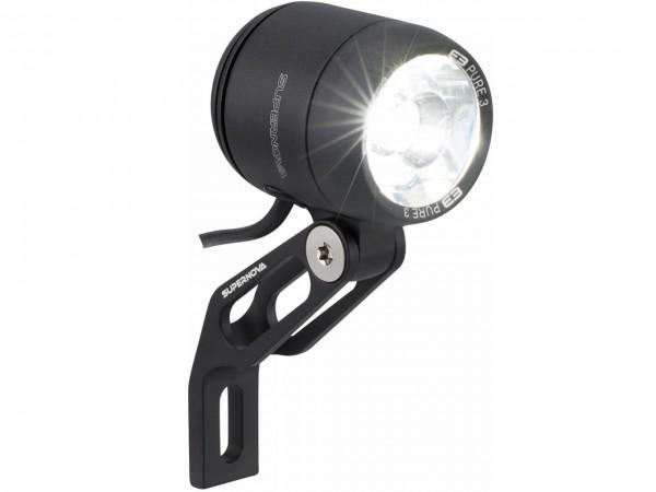 SUPERNOVA E3 Pure 3 LED Frontlicht mit StVZO-Zulassung