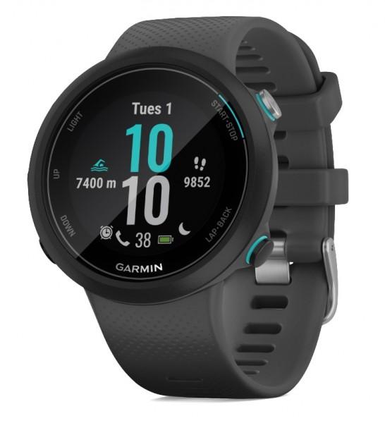 GARMIN Swim 2 Schwimmuhr - Smartwatch - Schiefergrau/Silber