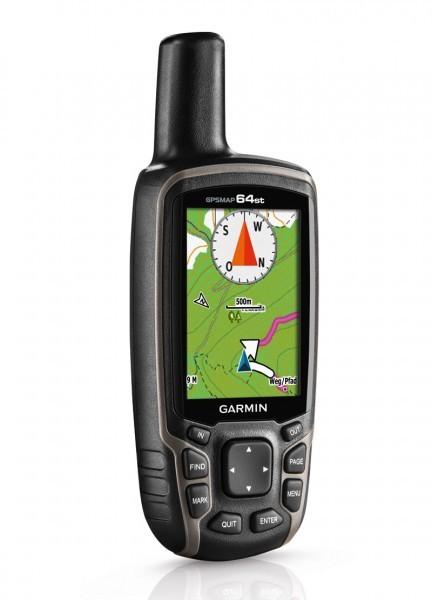 Garmin GPSmap 64ST Europa GPS Empfänger, Wandern und Bike Navigation