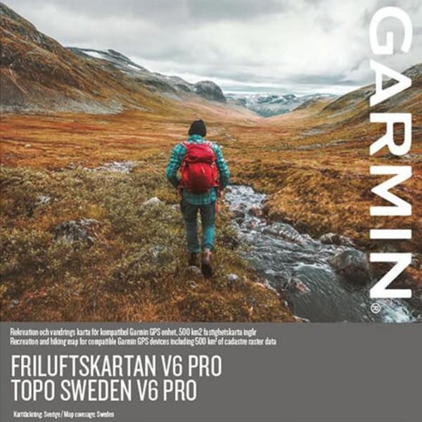 GARMIN Topo Sweden v6 PRO microSD/SD Karte