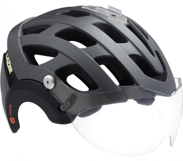 LAZER Anverz NTA MIPS E-Bike Helm + LED - Farbe matte-titanium