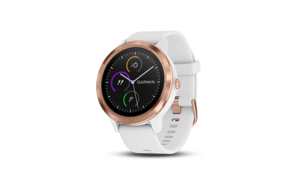 GARMIN vivoactive 3 GPS-Multisport-Smartwatch - Weiss/Rosegold