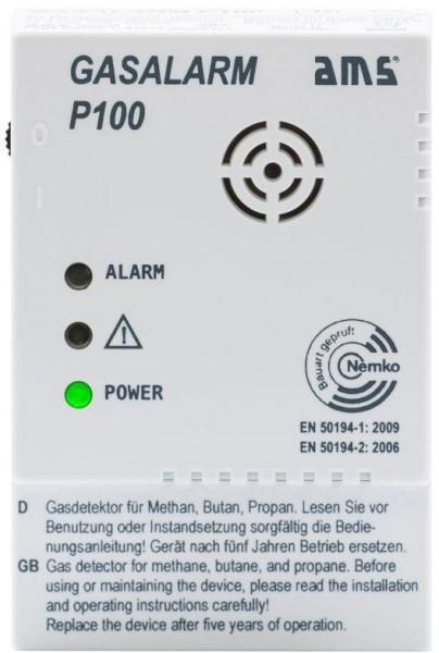 AMS Gasalarm P100 ohne Schaltausgang
