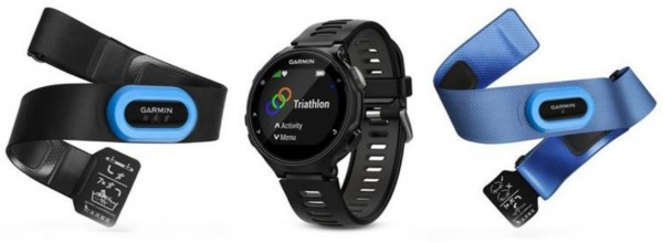 GARMIN Forerunner 735 XT Tri Bundle- Run- Triathlon GPS - Black
