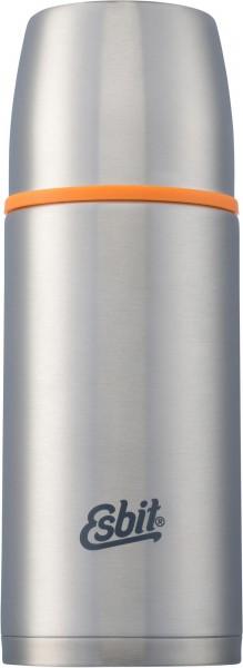 ESBIT Isolierflasche 0,75 L - Silber - Thermoflasche aus Edelstahl