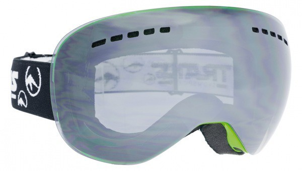 Trans Monster II Goggle in black-silver Herrengoggle