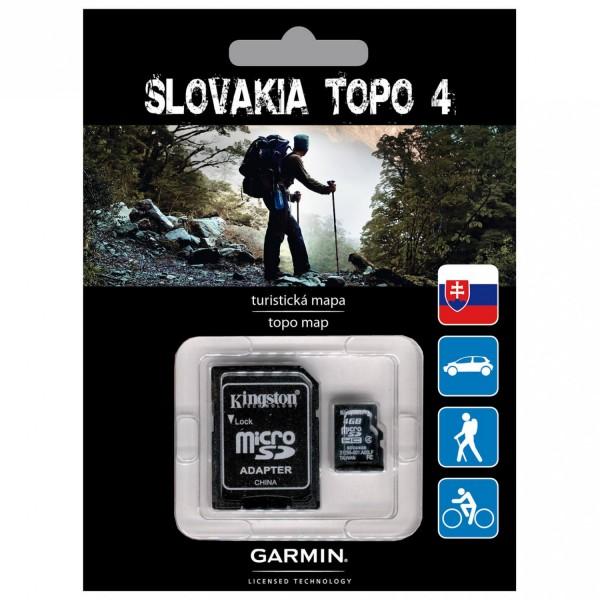 GARMIN Topo Slowakei v4 - microSD/SD - Karte