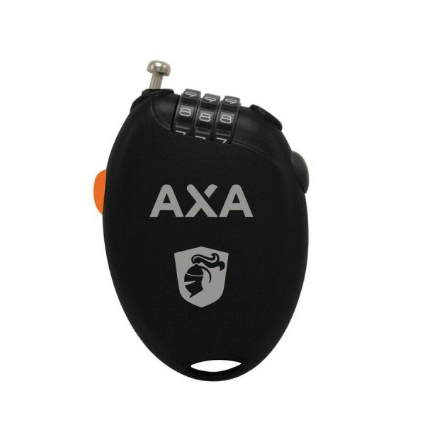 AXA Kabelschloss - Länge 75cm - Ø1,6mm - schwarz