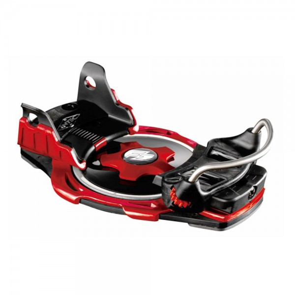 F2 BDG Intec Titanium Raceboard - Red - Step-In Bindung - Größe M