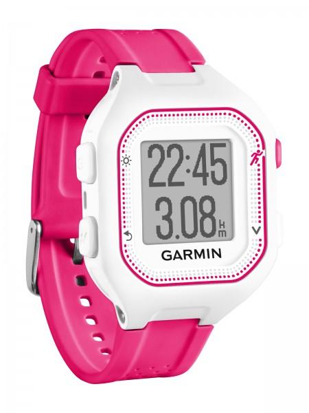 GARMIN Forerunner 25 Laufen GPS-Uhr - Weiß/Pink