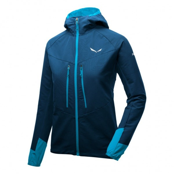 SALEWA Agner Engineered Women Durastrech Jacket - Poseidon