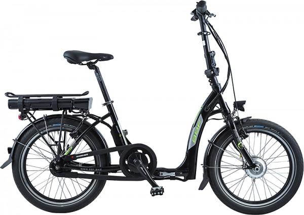 BBF Deep Entry Ansmann E-Bike Faltrad Damen 7-Gang-schwarz