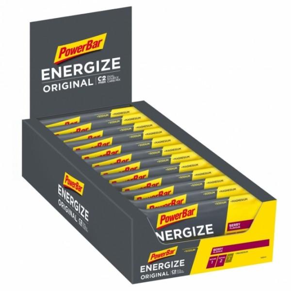 POWERBAR Energize Original - berry - 25 Riegel 55g Box