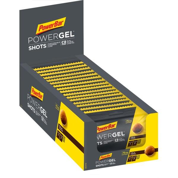 POWERBAR PowerGel Shots C2MAX - cola - 16 Shots 60g Box