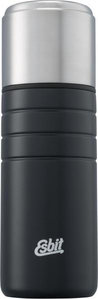 ESBIT Majoris Isolierflasche 0,75 L - Schwarz- Thermoflasche- Edelstahl