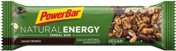 POWERBAR Nutural Energy- Riegel - cacao crunch - VEGAN - 40 g