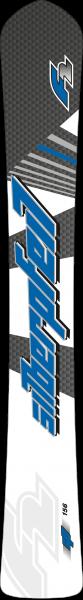 F2 Silberpfeil Carbon - Raceboard - Alpinboard - Snowboard - 2020