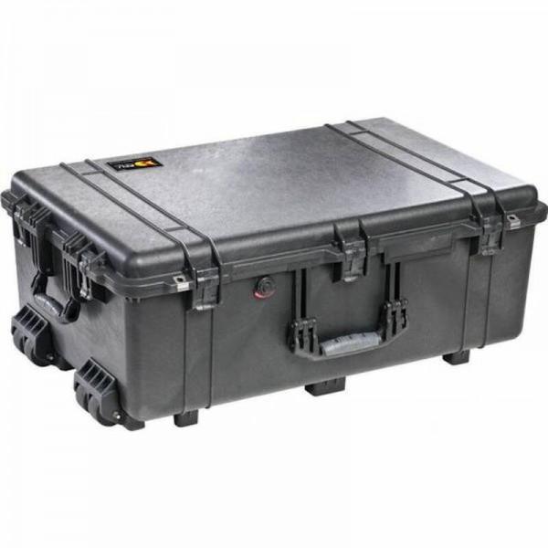 Peli Box 1650 mit Rollen - Transportbox - schwarz