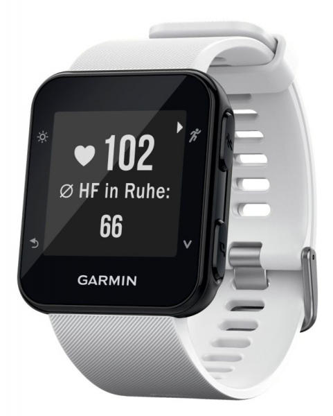 Garmin Forerunner 35 – White GPS- Uhr- Herzmesser am Handgelenk