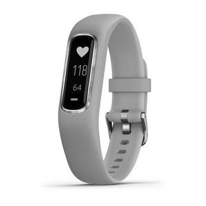 GARMIN Vivosmart 4 - Smartwatch - S/M - Hellgrau/Silber