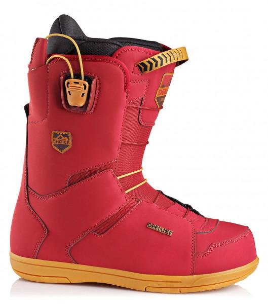 DEELUXE Choice CF - Snowboard Boots - Burgundy