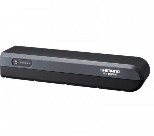 SHIMANO STEPS BT-E6000 Akku für Gepäckträgermontage-anthrazit