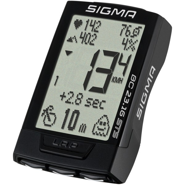SIGMA BC 23.16 STS Fahrradcomputer kabellos