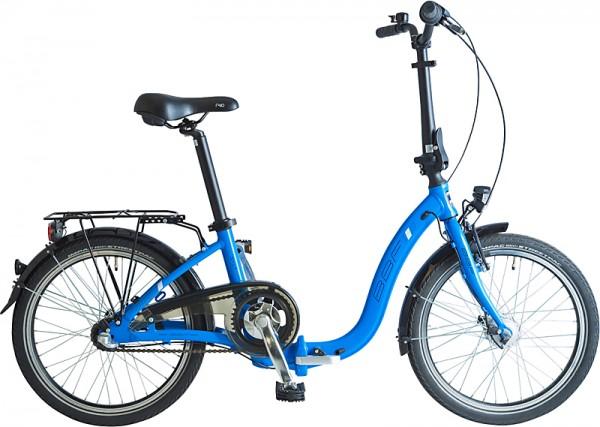 BBF Sylt Faltrad 3-Gang ND - blau
