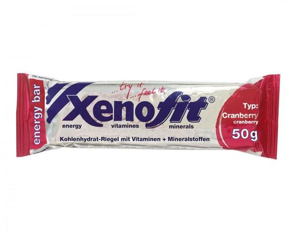 XENOFIT Energy Bar Riegel - Cranberry - 50g