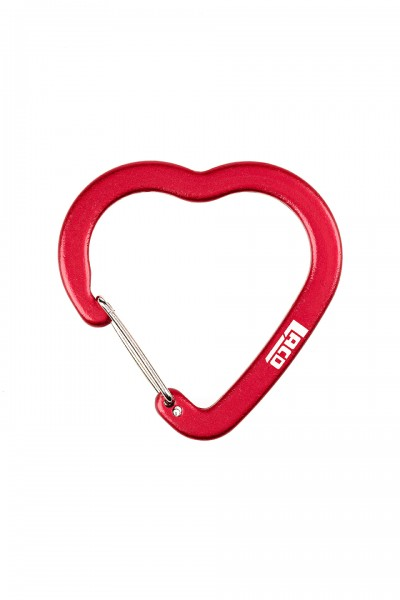 LACD Accessory Biner Heart FS - Karabiner - Rot