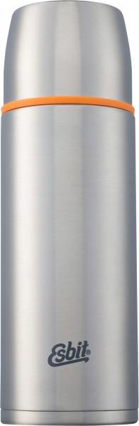 ESBIT Isolierflasche 1,0 L - Silber - Thermoflasche aus Edelstahl