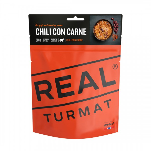 REAL TURMAT Chili con Carne - 10 Pack - Expeditionsnahrung